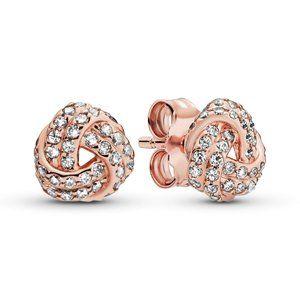 ✨Pandora Shimmering Knot Stud Earrings